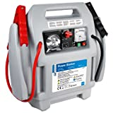 Cartrend 7740013 Auto Starthilfe tragbare Auto Starter, Starthilfe 12 Volt Autobatterie, Powerstation mit Kompressor