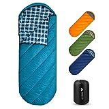 Forceatt Schlafsack für Camping 3-4 Jahreszeiten und kaltes Wetter (0 ℃ bis 20 ℃.) Leichtgewichtig, Wasserdicht und Warm für Erwachsene und Kinder 丨 Rucksackreisen, Camping, Wandern und Reisen