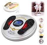 CJB18 Elektromagnetisches Fußmassagegerät & Körpertherapiegerät, 25 Massagemodi, 8 Elektrodenpolster für den Körper, Fernbedienung, Shiatsu, Akupunkturmodi und viele mehr