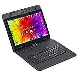 ACEPAD A121 (10.1') 3G Tablet PC, 2GB RAM, 64GB Speicher, Android 9.0 Pie, Dual-SIM, IPS HD 1280x800, Quad Core CPU, WiFi/WLAN/Bluetooth, USB/SD (Alu-Schwarz mit Tastaturtasche)