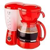 Bestron ACM6081R Kaffeemaschine rot 800W