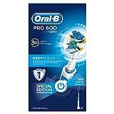 Oral-B Professional Care 600 Elektrische Zahnbürste mit FlossAction Aufsteckbürste