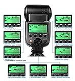 CameraPlus CPC580TTL Master Blitzgerät für Canon EOS Spiegelreflexkameras - Unterstützt E-TTL II - E-TTL - TTL