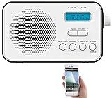 VR-Radio Radio: Mobiles Akku-Digitalradio mit DAB+ & FM, Wecker, Bluetooth 5, 8 Watt (Akku Radio)