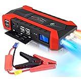 CQ&WL 89800mAh Multifunktions Auto Starthilfe 12V 4USB 600A Tragbares Autobatterieladegerät Notstart Energienbank Werkzeugsatz