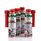 MATHY AGR-Kur Reinigungsset AGR-Ventil 250 ml + 3 x 300 ml - Reiniger Abgasrückführungssystem - Diesel Additiv - Einfache Anwendung über den Tank - AGR-Ventil Reiniger - Kraftstoffadditiv