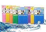 GOTONE 96 Stück Rohrreiniger Abflussreiniger Stäbchen, Sink Drain Cleaner Sticks, Stoppe stinkende & verstopfte Abflüsse, Enzymreiniger für verstopfte Rohre in Bad, Dusche und Küche