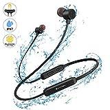 Bluetooth Kopfhörer Sport in Ear, YATWIN Bluetooth 5,0 Sportkopfhörer mit 16 Std HiFi Sound IPX7 Wasserdicht Earbuds, Magnetisches Ultraleicht Ohrhörer mit Noise Cancelling MEMS Mikrofon für Joggen