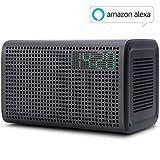 WLAN-Lautsprecher mit Amazon Alexa Intergriert, [Upgrade Version] GGMM E3 Wi-Fi Multiroom Airplay Lautsprecher Bluetooth für Musikstreaming, 20W (Schwarz)