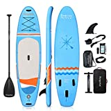 Soopotay Aufblasbares SUP Stand Up Paddle Board, aufblasbares SUP Board, iSUP Paket mit allem Zubehör