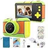 joylink Kinder Kamera, Kinder Digital Kamera 16MP 1080P HD Videokamera Digitalkamera Kinder und 32 GB TF-Karte Digitalkamera für Kinder (Grün)