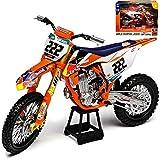 New Ray K-T-M 450 SX-F Tony Cairoli Nr 222 Red Bull 2018 Supercross-WM Enduro 1/10 Modell Motorrad