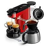 Philips Senseo Switch 2in1-Kaffeemaschine Senseo Switch rot