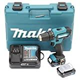 Makita DF333DSAE Akku-Bohrschrauber 12 V max. / 2,0 Ah, 2 Akkus + Ladegert im Transportkoffer, 10.8 V