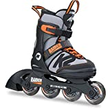 K2 Inline Skates RAIDER Für Jungen Mit K2 Softboot, Black - Grey - Orange, 30B0201