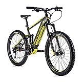 Fahrrad Electrique-Vae Mountainbike Leader Fox 27 Schwarz Matt / Gelb