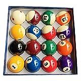 LSB-TAIQIU, 1set Billard Produkte Harz Billiard/Pool Table Ball Komplett-Set 2 1/4 '' Mit 6 roten Punkten Cue Ball