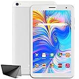 Tablet 8 Zoll Android 10 Google Tablet PC, 3 GB RAM, 32 GB ROM/128 GB Erweiterbar, Quad-Core, Google GMS Zertifiziert, Dual Kamera, HD IPS Display, 5000 mAh, Type C, WiFi, Bluetooth