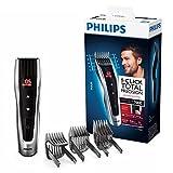 Philips HC7460/15 Haarschneidemaschine Series 7000 mit 60 Längeneinstellungen und motorisierten Kämmen,Gris/Noir