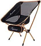 Sportneer Campingstuhl, Tragbar Leicht Faltbar Camping Stuhl bis zu 150 kg für Backpacking/Wandern/Picknick/Fische (1)