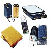 Inspektionspaket SCT Pollenfilter Luftfilter Ölfilter Kraftstofffilter Geschenk