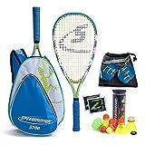 Speedminton® S700 Set – Original Speed Badminton/Crossminton Allround Set inkl. 5 Speeder®, Spielfeld, Tasche