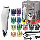 Remington Haarschneidemaschine Colour Cut (netzbetriebener Haarschneider, selbstschärfende Edelstahlklingen, inkl. 16 teiliges Zubehör davon 11 Aufsteckkämme) Haartrimmer Herren HC5035
