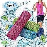 KAKOO Kühl Fitness Handtuch Sofort Kaltes Kühlende handtücher 30x100cm EIS Kalt für heißes Wetter Outdoor Sport Yoga Laufen Radfahren Golf Golf Camping Spiele