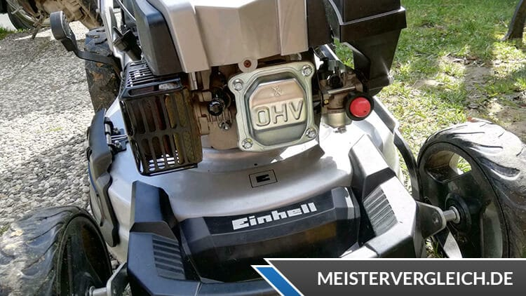Benzin Rasenmäher Einhell Motor