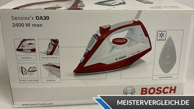 Bosch Dampfbügeleisen Verpackung