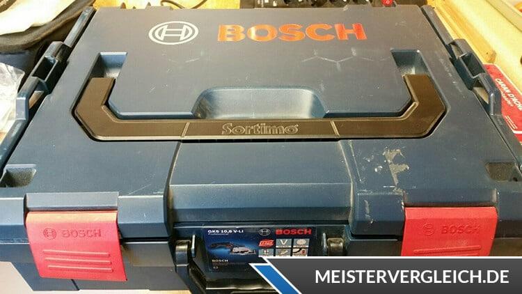 Bosch GKS 10,8 V-LI 06016A1000 Akku Handkreissäge Koffer