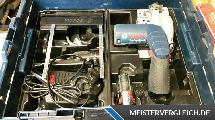 Bosch GKS 10,8 V-LI 06016A1000 Akku Handkreissäge Test