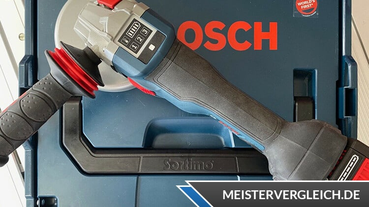 Bosch GWS 18-125 V-Li Akku-Winkelschleifer Test