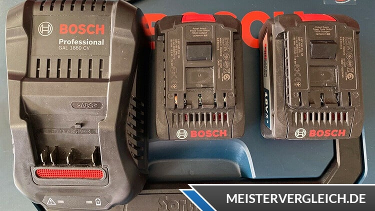 Bosch GWS 18-125 V-Li Akkus