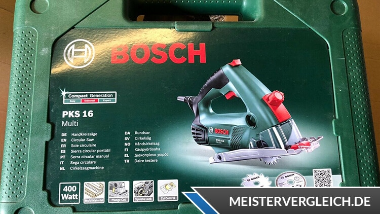 Bosch Handkreissäge PKS 16 HomeSeries Koffer