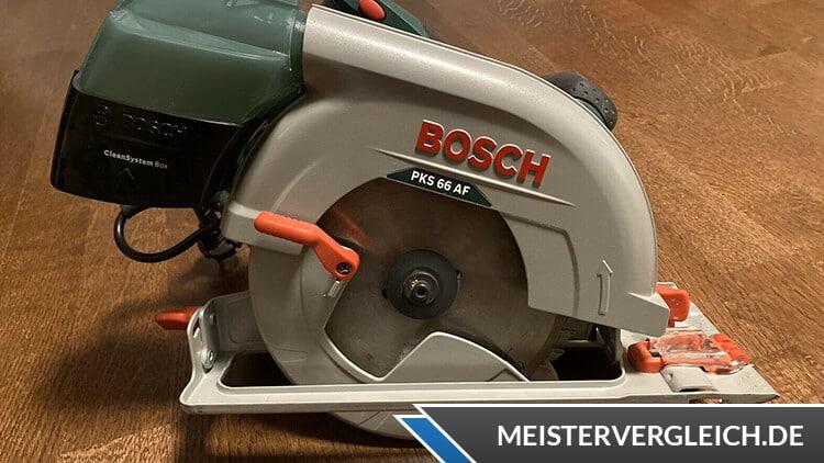 Bosch Handkreissäge PKS 66 AF Home Series Test