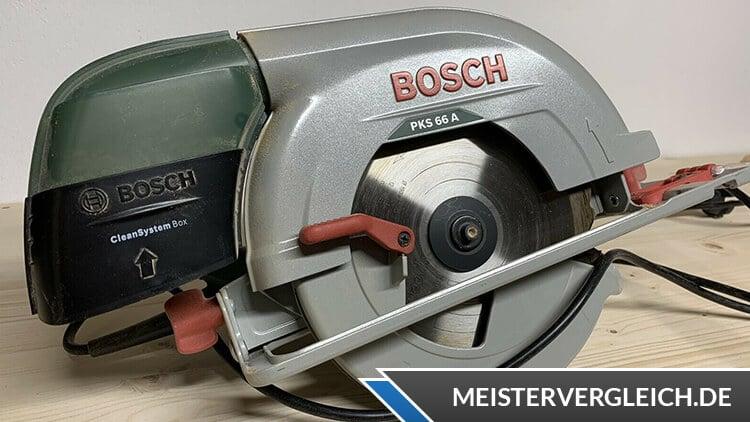 Bosch Heimwerker PKS 66 A HomeSeries Test