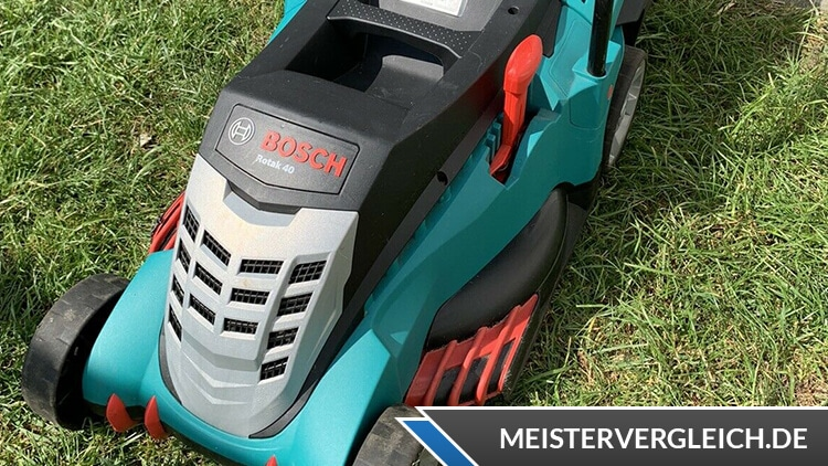 Bosch Home and Garden Rotak 40 Test