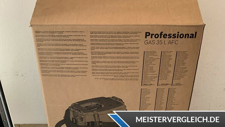 Bosch Professional GAS 35 L SFC plus Verpackung