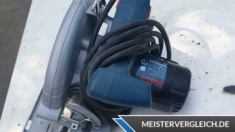 Bosch Professional Handkreissäge GKS 190 Praxistest