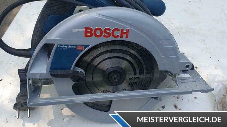 Bosch Professional Handkreissäge GKS 190 Test