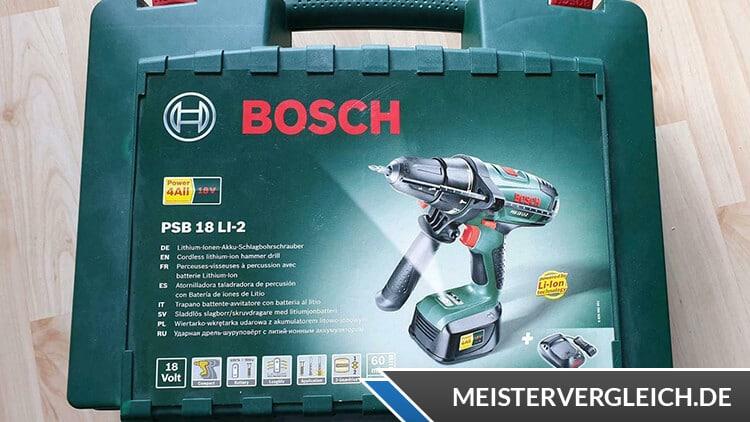 Bosch PSB 18 LI 2 Koffer