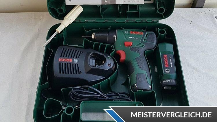 Bosch PSR 10,8 LI 2 Akkuschrauber Box Innen