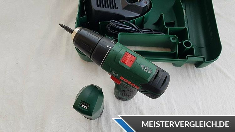 Bosch PSR 10,8 LI 2 Akkuschrauber Oberansicht