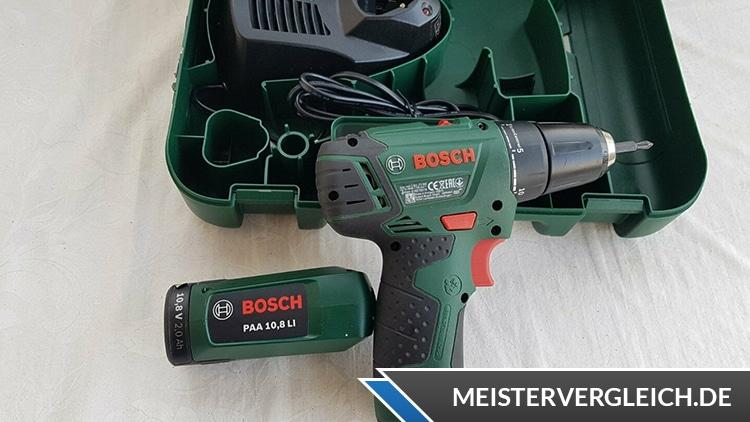 Bosch PSR 10,8 LI 2 Akkuschrauber Test