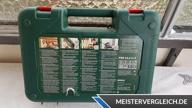 Bosch PSR 14,4 LI 2 Box Rückseite