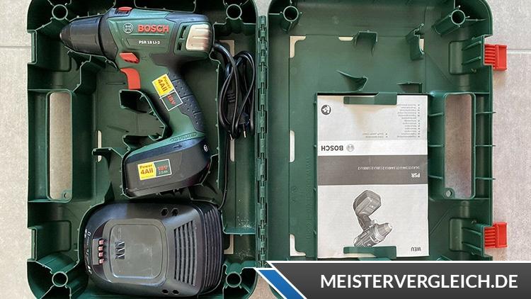 Bosch PSR 18 LI 2 Koffer Innen