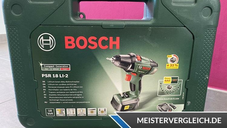 Bosch PSR 18 LI 2 Koffer