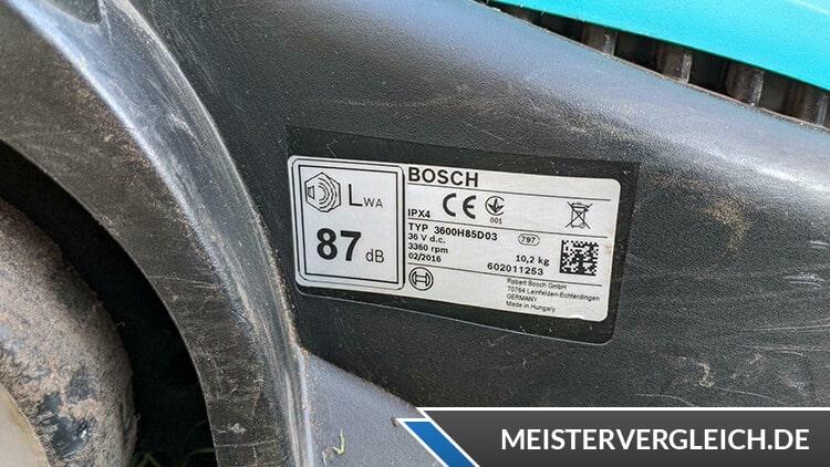 Bosch Rotak 32 LI Datenblatt