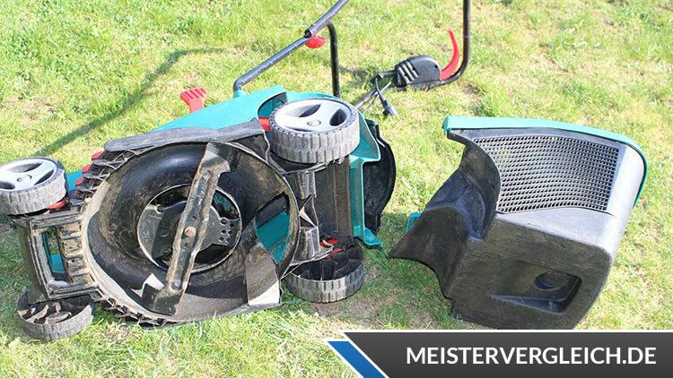 Bosch Rotak 37 Rasenmäher Praxistest